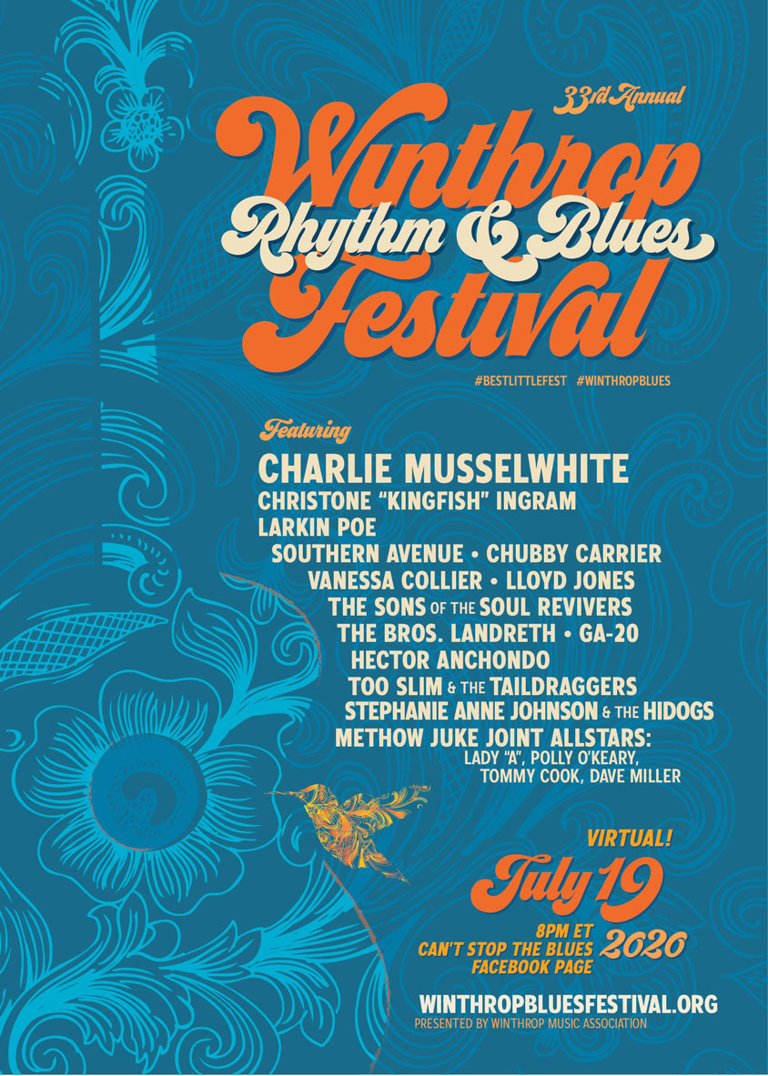 Winthrop Rhythm & Blues Fest Virtual